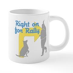 Right on for Rally 20 oz Ceramic Mega Mug