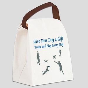 GiveAGift_v3 Canvas Lunch Bag