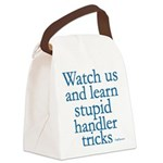 WatchUs8x8 Canvas Lunch Bag