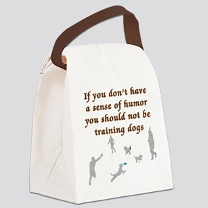 Sene of Humor Canvas Lunch Bag