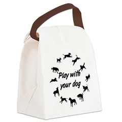12Dogs_1 Canvas Lunch Bag