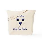 DogFaceSmile_Apparel Tote Bag