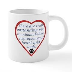 Open Your Heart 20 oz Ceramic Mega Mug