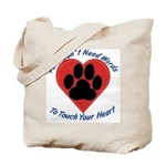 Touch Your Heart Tote Bag
