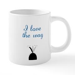 LoveTheWag1710x2669 20 oz Ceramic Mega Mug