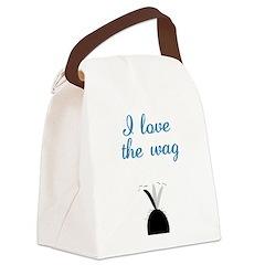 LoveTheWag1710x2669 Canvas Lunch Bag