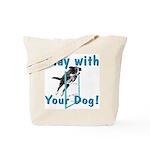 PlayWithDogCustom3000x3000 Tote Bag