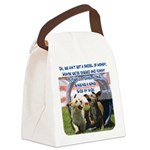 Side by Side Canvas Lunch Bag