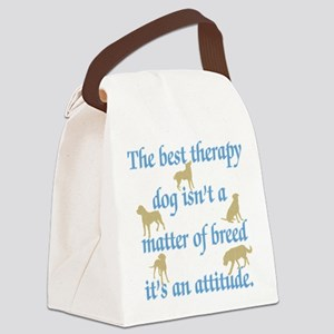 Not Breed Attitude Canvas Lunch Bag
