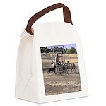 Herding Dog Art Canvas Lunch Bag
