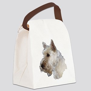 Scottish Terrier (Wheaten) Canvas Lunch Bag