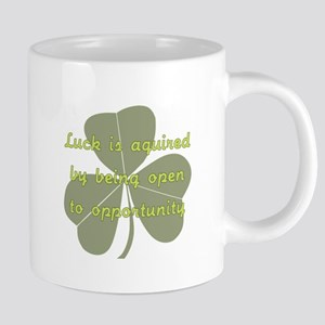 Luck is Opportunity 20 oz Ceramic Mega Mug