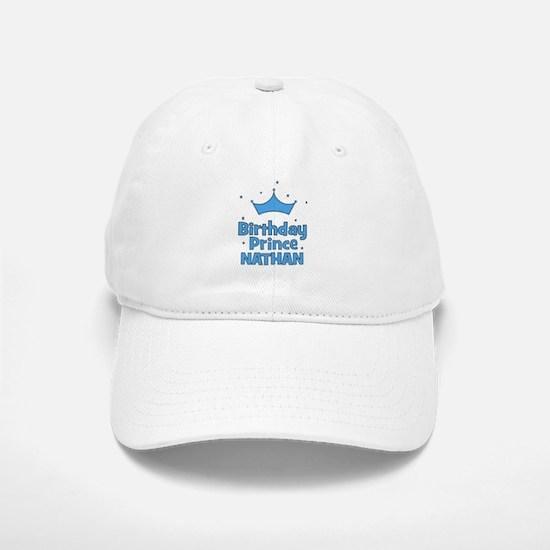 Birthday Prince Nathan! Baseball Baseball Cap