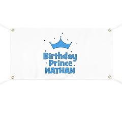 Birthday Prince Nathan! Banner