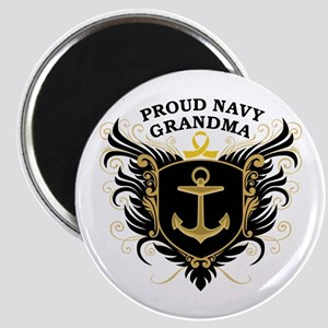 Proud Navy Grandma Magnet