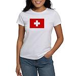 SWISS CROSS FLAG Women's T-Shirt