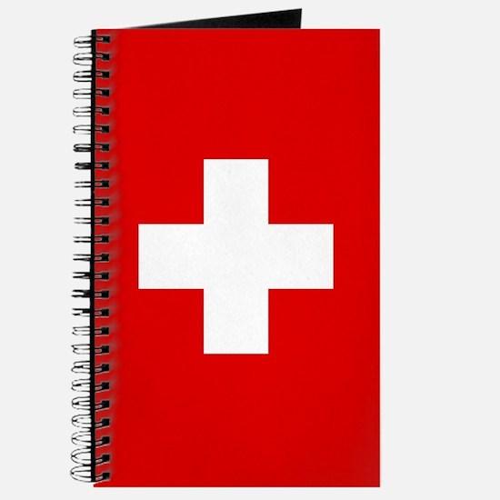 SWISS CROSS FLAG Journal