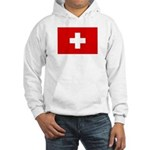 SWISS CROSS FLAG Hooded Sweatshirt