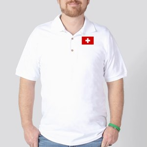 SWISS CROSS FLAG Golf Shirt