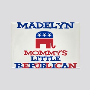 Madelyn - Mommy's Republican Rectangle Magnet