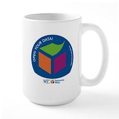 W3C Semantic Web Open Your Data! Mug