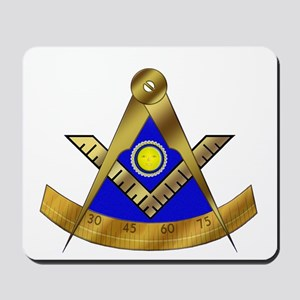 Masonic Past Master W/Square Mousepad