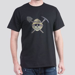Paleontology Skull Dark T-Shirt