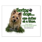 Saving Dogs Small Poster