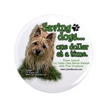 """Saving Dogs 3.5"""" Button (100 pack)"""