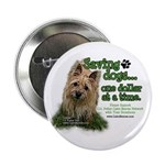 """Saving Dogs 2.25"""" Button (100 pack)"""