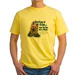 Saving Dogs Yellow T-Shirt