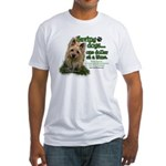 Saving Dogs Fitted T-Shirt