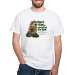 Saving Dogs White T-Shirt