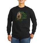 Saving Dogs Long Sleeve Dark T-Shirt