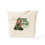 Saving Dogs Tote Bag