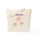 America's Fireworks Tote Bag