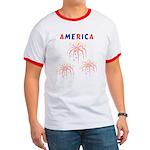 America's Fireworks Ringer T