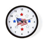 America's Fireworks Wall Clock