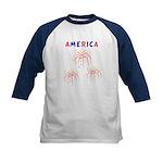 America's Fireworks Kids Baseball Jersey