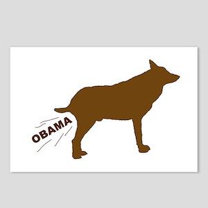 OBAMA DOG Postcards (Package of 8)