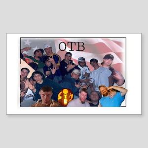 OTB Crew Sticker