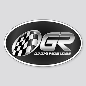 OGR Oval Sticker
