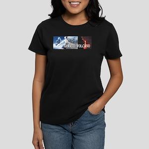 ABH Hawaii Volcanoes Women's Dark T-Shirt