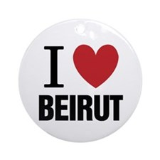 I Heart Beirut | Ornament (Round)