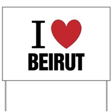 I Heart Beirut | Yard Sign
