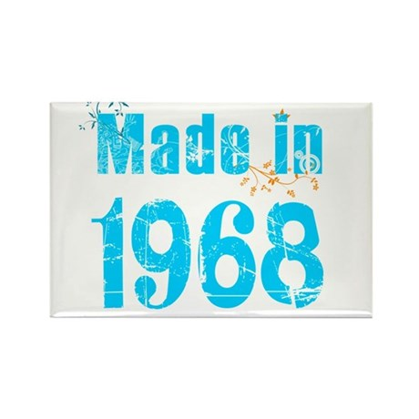 Made in 1968 Rectangle Magnet
