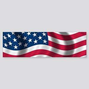 usflag Bumper Sticker