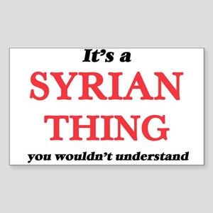 It's a Syrian thing, you wouldn't Sticker