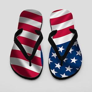 usflag Flip Flops