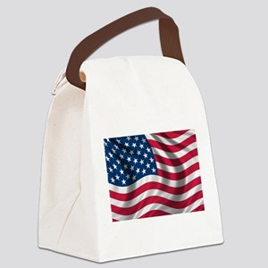 usflag Canvas Lunch Bag